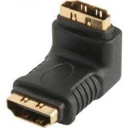 HDMI Female to HDMI Female Right Angle Adaptor
