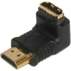 HDMI Male to HDMI Female Right Angle Adaptor