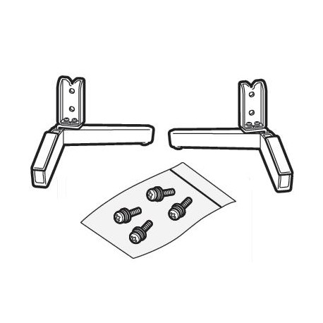 Sony Television Stand Legs for KD-75X8500F