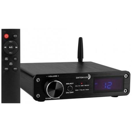 DAYTON AUDIO 100Watt Class D Amplifier with Bluetooth, USB DAC