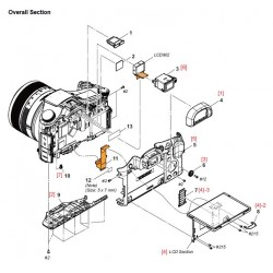 DSC-RX10M2 Sony Camera Exploded Diagram