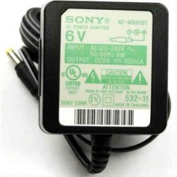 Sony AC-MS608T Audio AC Adaptor