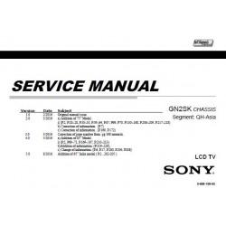 Sony KD55X8500D / KD65X8500D / KD75X8500D / KD85X8500D TV Service Manual