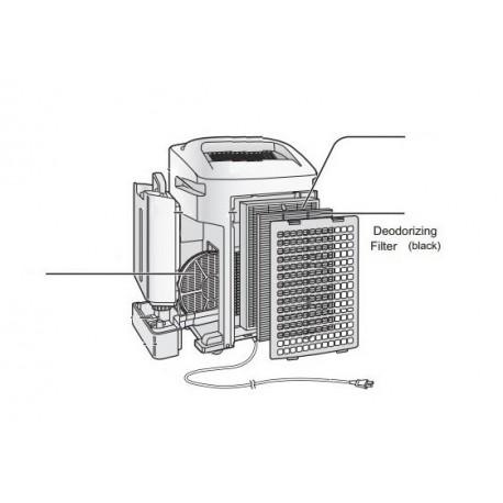 Sharp Air Purifier Deodoriser Filter for KCA50JW
