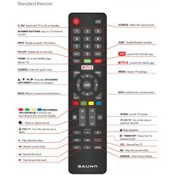 BAUHN TV Remote for ATV75UHDS-1219
