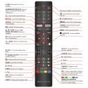 BAUHN TV Remote for ATV58UHDG-0320