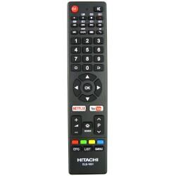 HITACHI CLE-1031 TV Remote for 32FHDSM6 / 32HDSM8 / 40FHDSM8 / 50UHDSM8 / 55UHDSM8 / 65UHDSM8 / 70UHDSM8 / 75UHDSM8