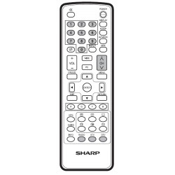 Sharp Television GA977WJSA Remote