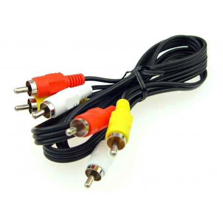 Sony RCA Audio and Video Cord 1.2m