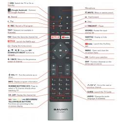 BAUHN TV Remote for ATV65UHDG-0620