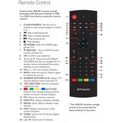 Polaroid TV Remote for PL6018UHDS