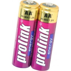 Rechargeable AA Batteries - 2 Pack