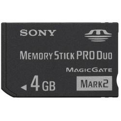 Sony Memory Stick Pro Duo - 4Gb