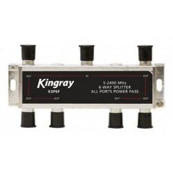 KINGRAY 6 Way All Ports Splitter