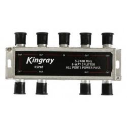 KINGRAY 8 Way F-Type Splitter 5-2400MHz