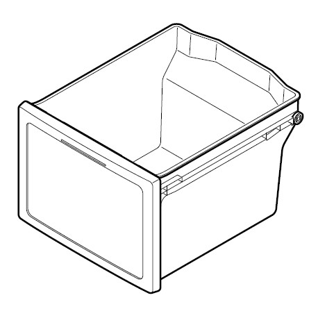 Sharp Freezer Large Draw