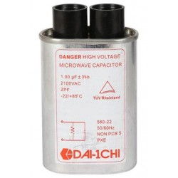 High Voltage Capacitor 1.00μF 2100V
