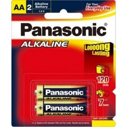 Battery AA LR6 Alkaline Batteries 2 Pack