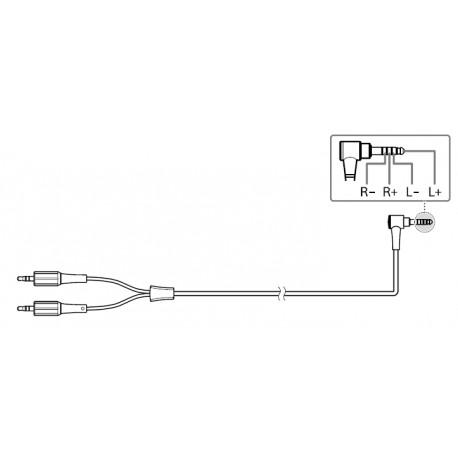 MDR-Z7M2 Balanced Sony Headphone Cable 4.4mm Plug 1.2m