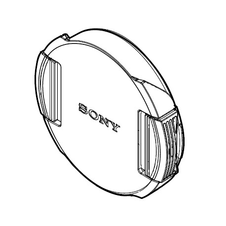 Sony Front Lens Cap for SEL075UWC