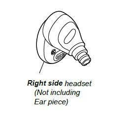 Sony WF-H800 Right Ear Unit - BLACK