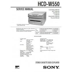 Sony HCD-W550 (MHC-W770AV) Service Manual