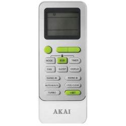 AKAI Air Conditioner Remote for AK-T25R32 / AK-T35R32 / AK-T51R32 / AK-T70R32 REM6340