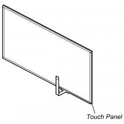 Sony Touch Panel for XAV-AX1000