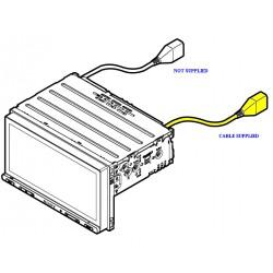 Sony USB2 Car Radio Loom for XAVAX5000