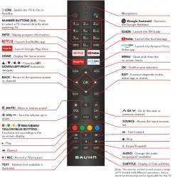 BAUHN TV Remote for ATV50UHDG-0521