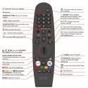 DGTEC TV Remote for DG65UHDOS