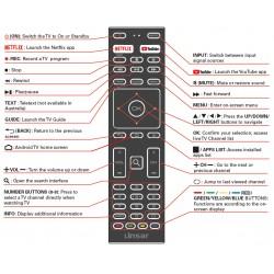 LINSAR TV Remote LS40FHDG-SCA