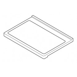 Sharp Fridge Glass Shelf
