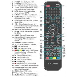 BAUHN TV Remote for ATV32H-0716
