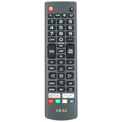 AKAI TV Remote for AK7521S6WOS / AK6521S6WOS / AK5821S6WOS / AK5021S6WOS