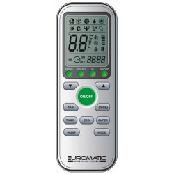 EUROMATIC Air Conditioner Remote for EUR-9000FX