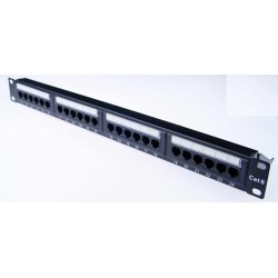 CAT6 Patch Panel 24 Port