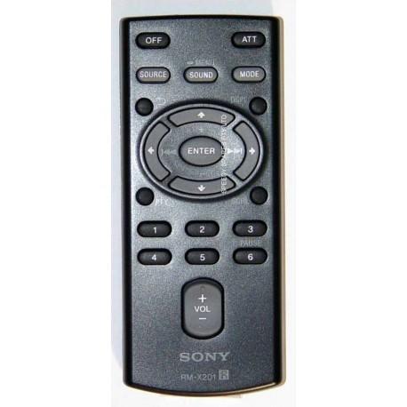 Remote Control RM-X201 RMX201