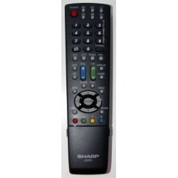 Sharp Television GA612WJSA Remote