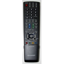 Sharp Television GA612WJSB Remote