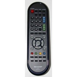 Sharp Television GA971WJSA Remote