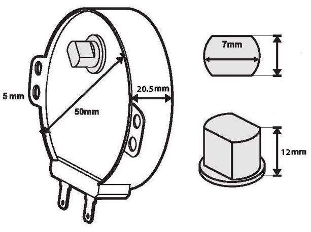 Microwave Turntable Motor Mwm223 Rmotda223wre0