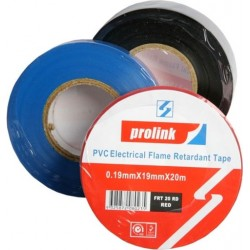 PVC Electrical Flame Retardant Tape - BLACK
