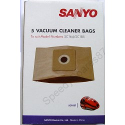 Sanyo Paper Dust Bag - Pack of 5