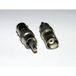 Adaptor - RCA Plug to BNC Socket