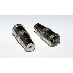 Adaptor - COAX Socket to RCA Socket