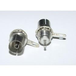 Adaptor - Socket 75ohm COAX CHASSIS MOUNT -Female