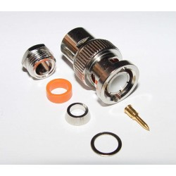 Adaptor -BNC Plug - Crimp Type