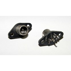 RCA Jack Chassis Mount - Black