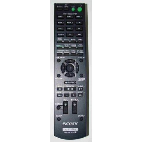 Sony RM-AAU205 Audio Remote
